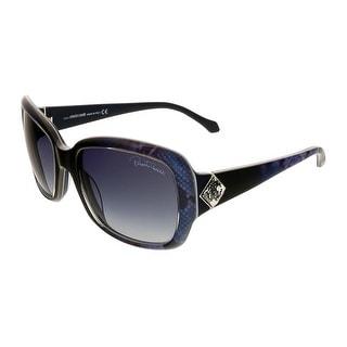 Roberto Cavalli RC881/S  92W Maia Blue Square Sunglasses - 56-19-135