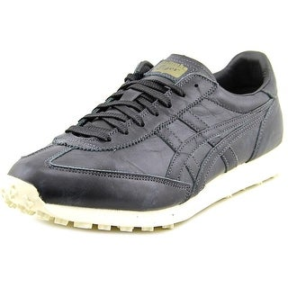 Onitsuka Tiger by Asics EDR 78 Men Round Toe Leather Black Sneakers