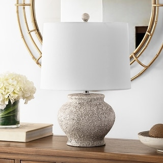 """Link to Safavieh Lighting 21-inch Imran Resin Table Lamp - 14"""" x 14"""" x 21"""" Similar Items in Table Lamps"""