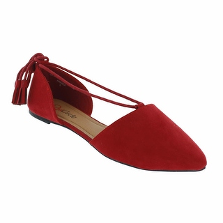 Red Circle Footwear 'Amanda' Pointy Flat