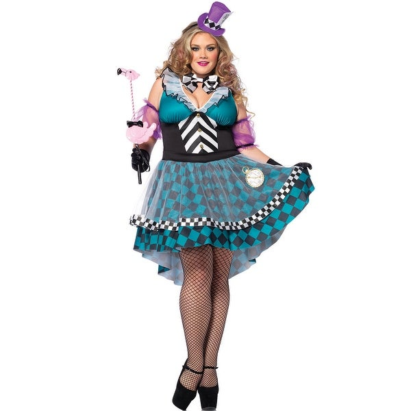 8d37616b58 Shop Plus Size Crazy Mad Hatter Costume - Free Shipping Today - Overstock -  17825927