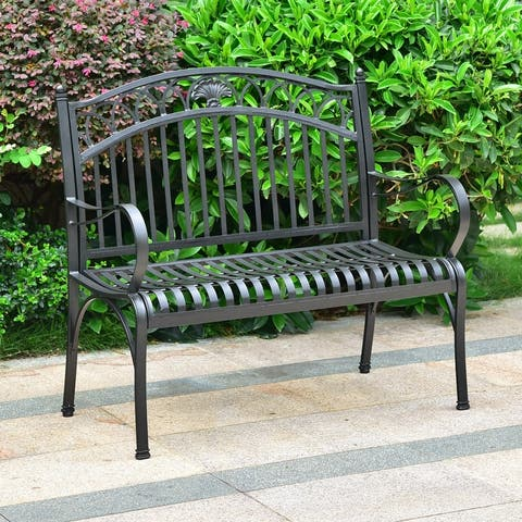 International Caravan Segovia 2-Seater Garden Bench