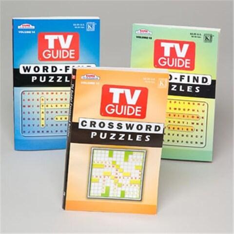 DDI 375823 Puzzle Books - TV Guide Case of 144