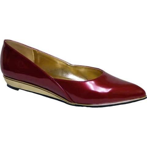 Bellini Women's Famous Flat Red Polyurethane