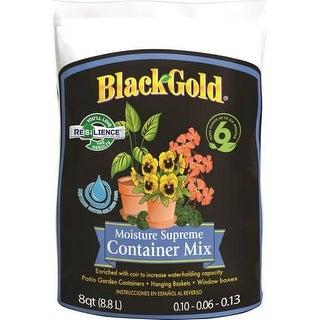 Black Gold 1413000Q08P Moisture Supreme Potting Mix, 8 Quart