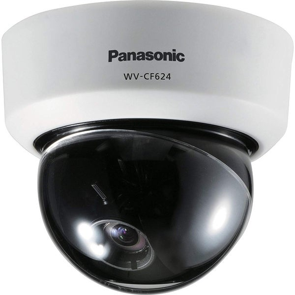 Panasonic Wvcf624 Day/Night Fixed Dome Analog Camera W/ Super Dynamic Technology