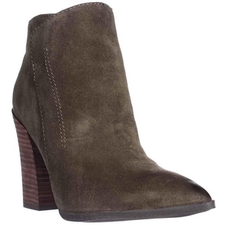 GUESS Hardey Pointed-Toe Ankle Boots - Dark Green