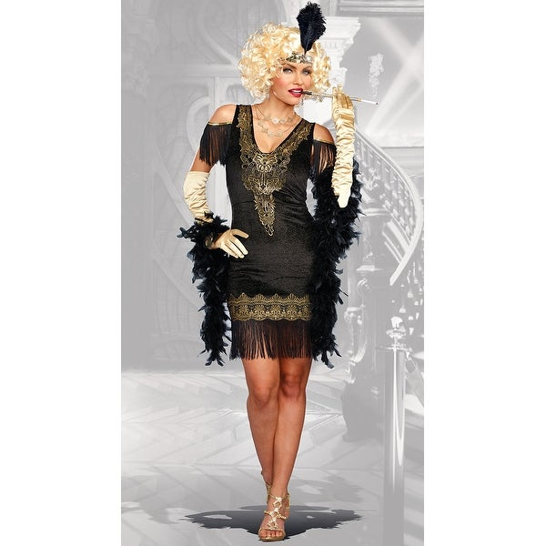 5517ef8b1c Shop Swanky Flapper Costume - as shown - Free Shipping On Orders Over  45 -  Overstock - 17885330
