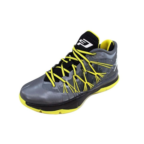 3f802598b518a9 Shop Nike Grade-School Air Jordan CP3 VII 7 AE BG Dark Grey White ...