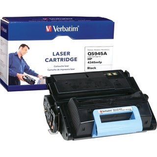 Verbatim 96007 Verbatim HP Q5945A Remanufactured Laser Toner Cartridge - Black - Laser - 18000 Page - 1 / Pack
