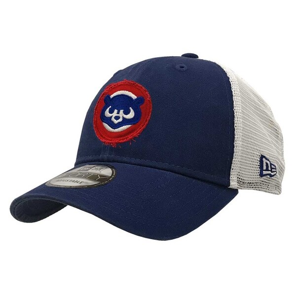 3fb0b3fdffe Shop New Era 2019 MLB Chicago Cubs Baseball Cap Hat Frayed Cooperstown 84   9Forty - Free Shipping On Orders Over  45 - Overstock - 27341177