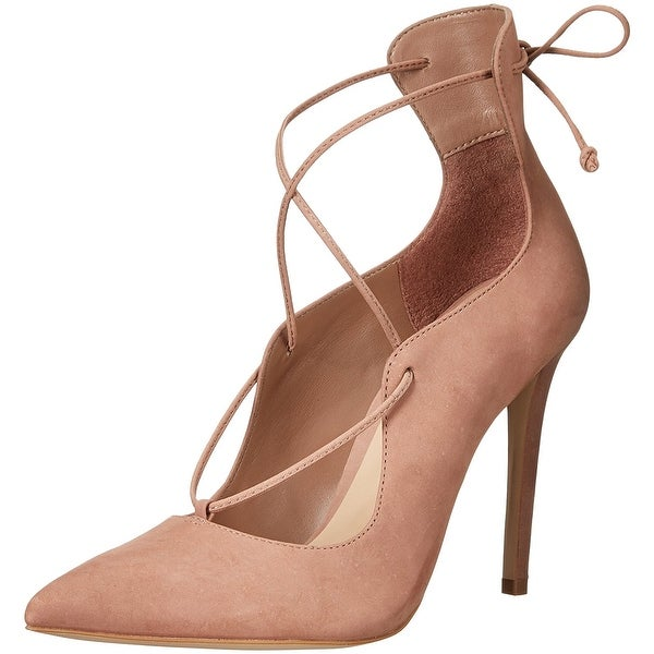 Aldo Womens Thylia Leather Pointed Toe Ankle Strap Classic Pumps