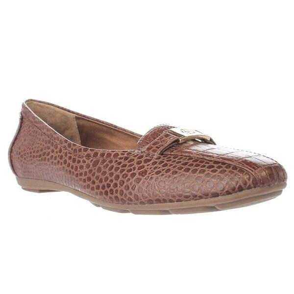 GB35 Jileese Casual Loafer Flats, Nut