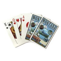 MT State Scenes - LP Artwork (Poker Playing Cards Deck)
