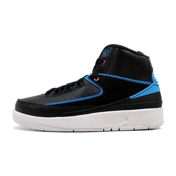 3f7bd1a4e7bd87 Shop Nike Air Jordan II 2 Retro BG Black Photo Blue-White-Pink ...