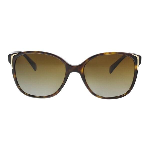 cc67f98467b0 Shop Prada PR01OS 2AU6E1 Havana Square Sunglasses - 55-17-140 - Free ...