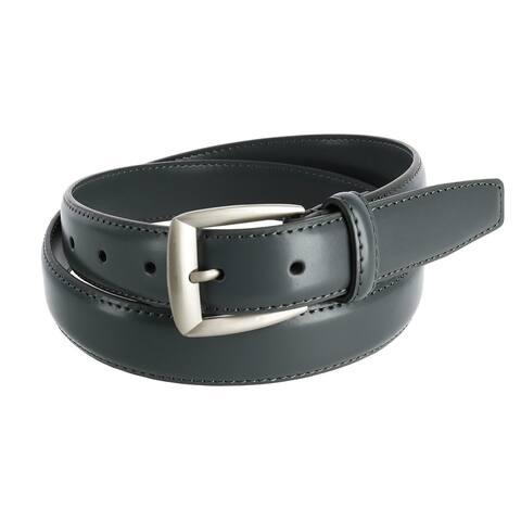 CTM® Men's Basic Leather Dress Belt