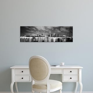Easy Art Prints Panoramic Images's 'Evening St Louis MO' Premium Canvas Art