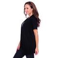 Simply Ravishing Women's Basic Short Sleeve Open Cardigan (Size: Small-5X) - Thumbnail 11