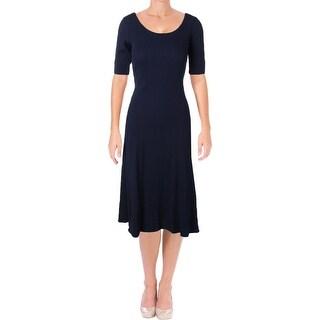 Lauren Ralph Lauren Womens Shirtdress Cotton Thermal