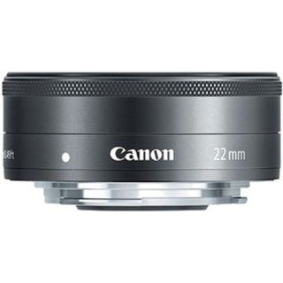 Canon - 22 mm - f/2 - Wide Angle Lens for Canon EF-M - 43 mm (Refurbished)