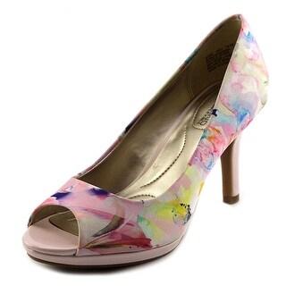 Bandolino Supermodel Peep-Toe Synthetic Heels