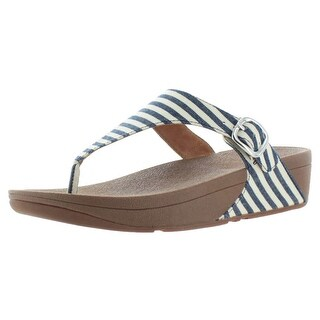 FitFlop The Skinny Women's Nautical Striped Toning Thong Sandals