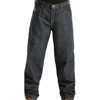 Cinch Western Denim Jeans Mens Blue Label Utility WRX Dark WP78734001