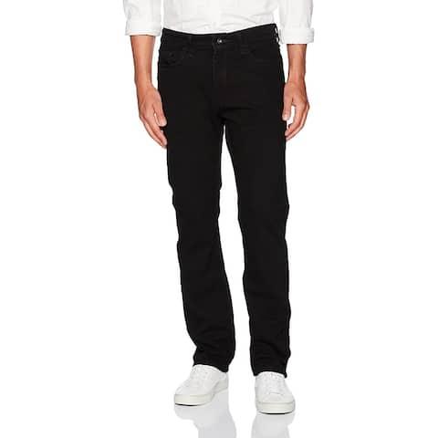 Nautica Men's Straight Fit Jean, Black Ink, 36W 32L