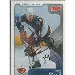 Tomi Kallio Atlanta Thrashers 2001 Upper Deck Victory Autographed Card This item comes with a cert