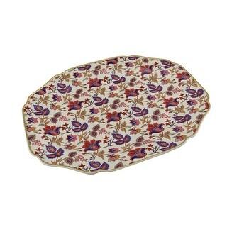 Wade Ceramics American Masala Jaipur in Cream Platter
