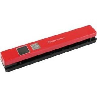 I.R.I.S. 458843 Iriscan Anywhere 5 Document Scanner, Black/Red