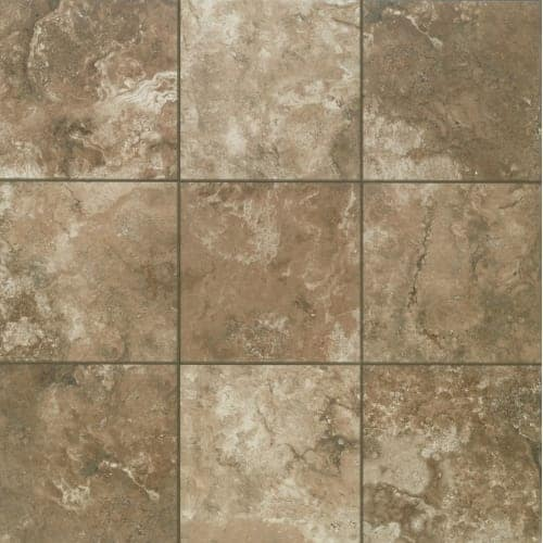 Shop Mohawk Industries Mocha Latte Ceramic Floor Tile - 13 inch floor tiles
