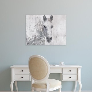 Easy Art Prints Irena Orlov's 'Dapple Horse I' Premium Canvas Art