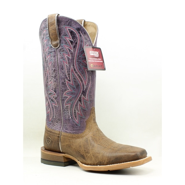 7b1b8039890 Shop Ariat Womens Rosa Purple Cowboy, Western Boots Size 7 - Free ...