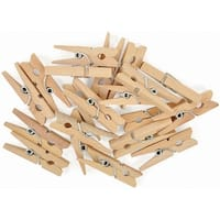 "Tiny Pegs 20/Pkg-1.25""X.25""X.25"" (Clothespins)"