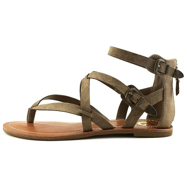 G by Guess Womens Hearn Split Toe Casual Strappy Sandals