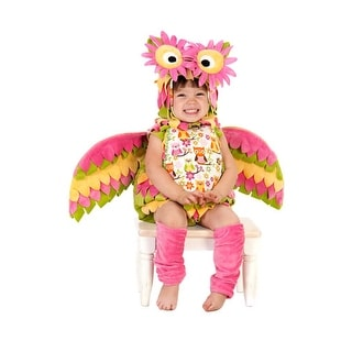 Toddler Hootie Owl Rainbow Kids Halloween Costume