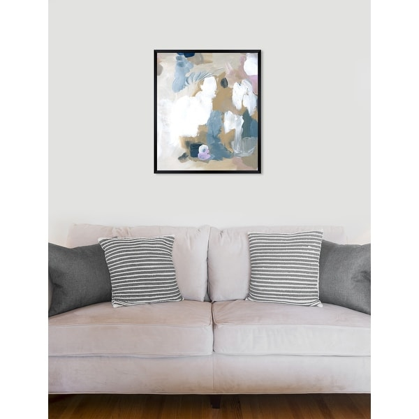 Oliver Gal 'Crem' Abstract Framed Wall Art Print. Opens flyout.