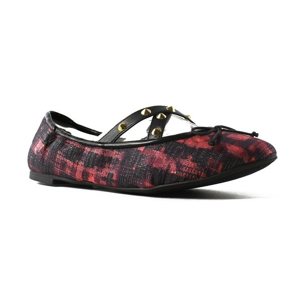 1d7bfdb63 Shop Sam Edelman Womens F1917m2-600 Red Ballet Flats Size 6.5 - On ...