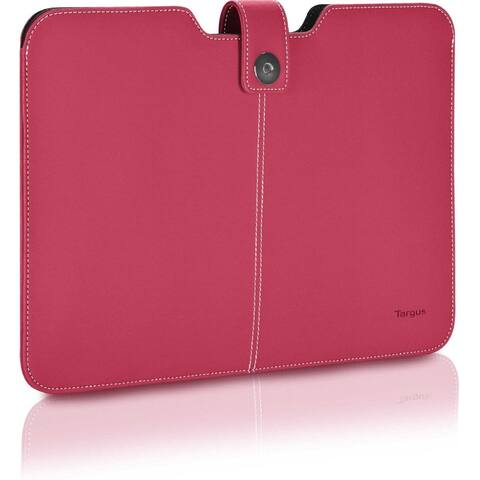 Targus Twill Laptop Sleeve for 13.3-inch Apple Macbook Air Pink - 1.0 in. x 10.0 in. x 14.0 in.