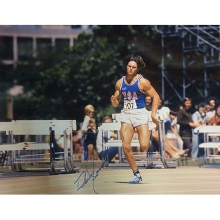 Bruce Jenner Autographed Olympic Decathlon Gold Medalist 16x20 Photo