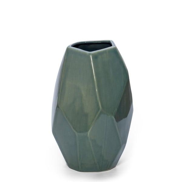 Charming Light Blue Ceramic Vase
