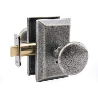 Miseno MHDW-AG330 Granada Solid Brass Privacy Door Knob Set