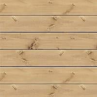 "Jillibean Soup Mix The Media 3D Pine Wood Plank 14""X14""-Pine Plank"