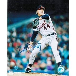 John Doherty Detroit Tigers Autographed 8x10 Photo