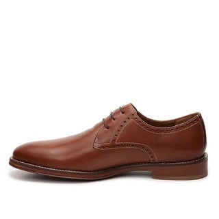 Johnston & Murphy Mens hughs Lace Up Casual Oxfords, Tan, Size 8.0