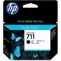 HP 711 80-ml Black DesignJet Ink Cartridge (Single Pack) HP 711 80-ml Black Ink Cartridge - Black -