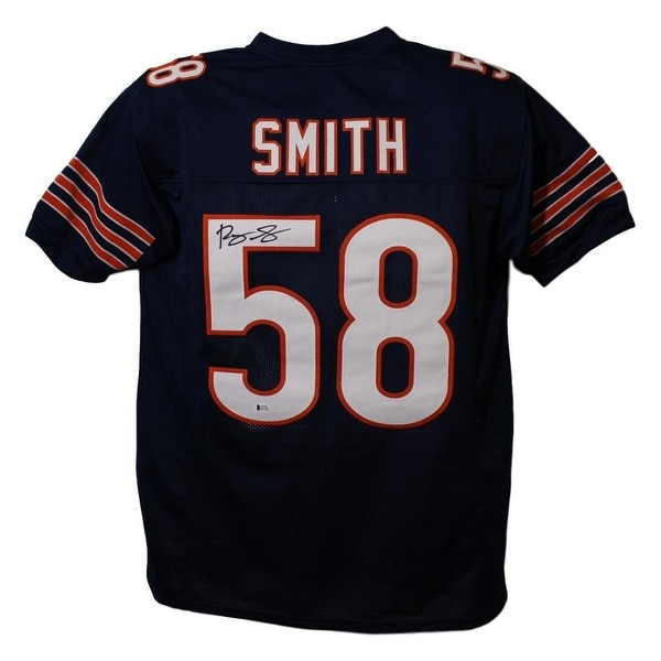 online store 0a2c2 a3e80 Roquan Smith Autographed Chicago Bears XL Blue Jersey BAS