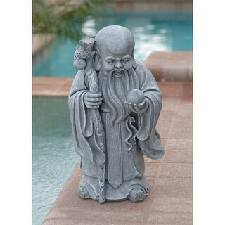 Shou Xin Gong: Chinese God of Longevity Statue DESIGN TOSCANO China Chinese